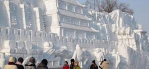 Ледене скулптуре у Харбину