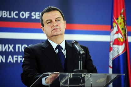 Министар спољних послова Ивица Дачић
