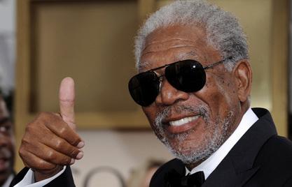 Популарни амерички црни глумац Морган Фримен
