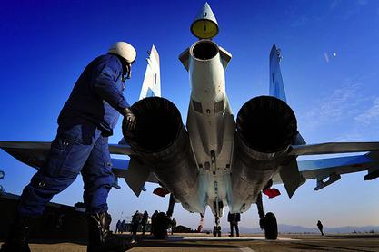 """Русија у сиријску операцију укључила четири суперманеварска ловца Су-35С генерације """"4++"""""""
