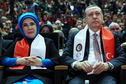 Eмина - жена турског председника Реџепа Тајипа Ердогана