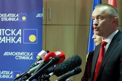 Председник Демократске странке (ДС) Бојан Пајтић