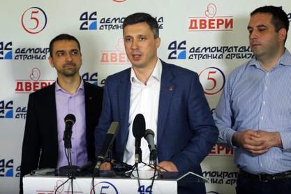Двери поднеле кривичне пријаве против Вучића, Вучићевића и Митровића