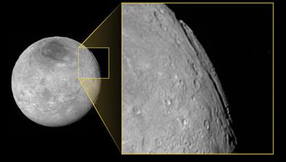 На Харону откривен највећи кањон у Сунчевом систему – дугачак 700, а дубок 9 километара
