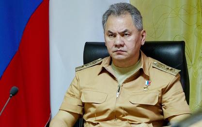Министар одбране Русије Сергеј Шојгу