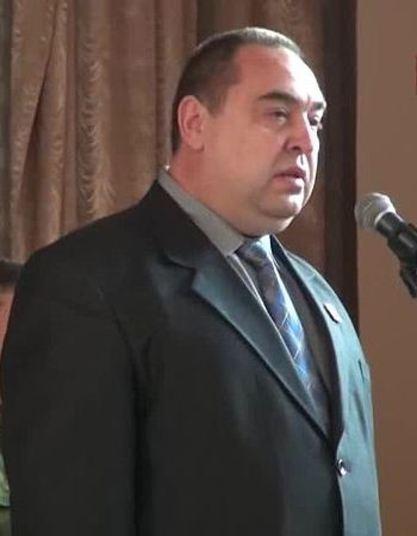 Игор Плотњицки, председник Луганске Народне Републике