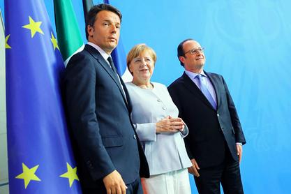 """Меркел, Оланд и Ренци смишљају """"обнову ЕУ"""", па се сетили """"колевке Европе"""""""