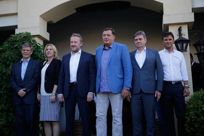 Додик и Изетбеговић се договорили о механизму координације у преговорима са Европском унијом