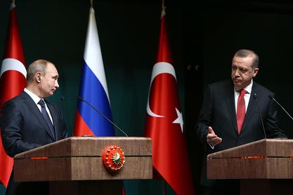 Владимир Путин и Реџеп Тајип Ердоган