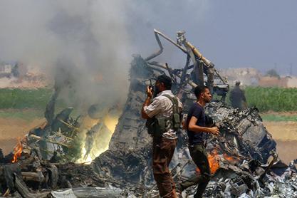 Ми-8 је оборен у Сирији над територијом коју контролише терористичка групација Џебхат ан-Нусра