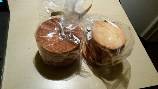 """""""Stroopwafel"""", и сувенирни чајни кекси са звијездом"""